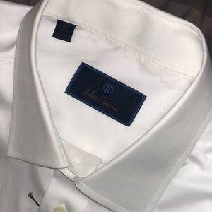 David Donahue White Dress Shirt 16.5 - 32/33